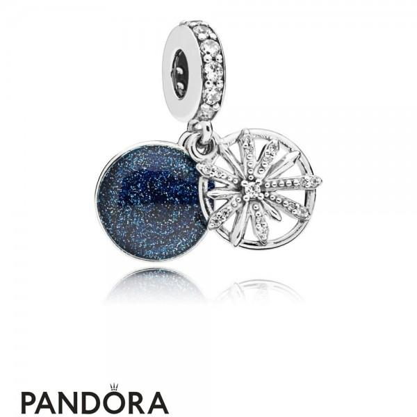 Women's Pandora Dazzling Wishes Hanging Charm Jewelry
