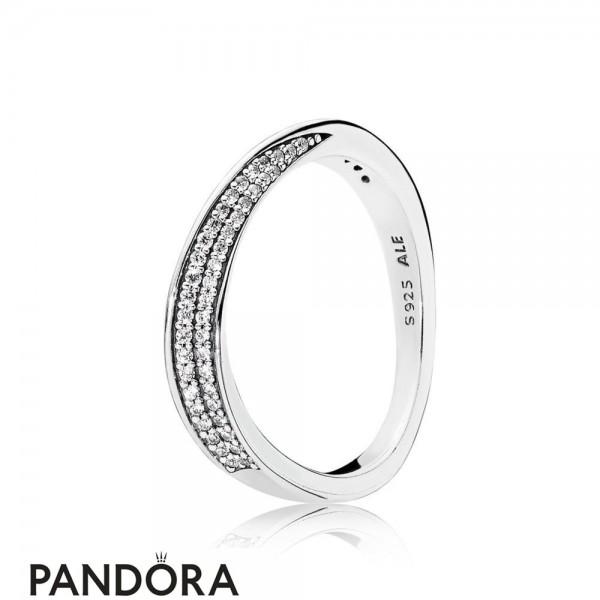 Women's Pandora Elegant Waves Ring Jewelry
