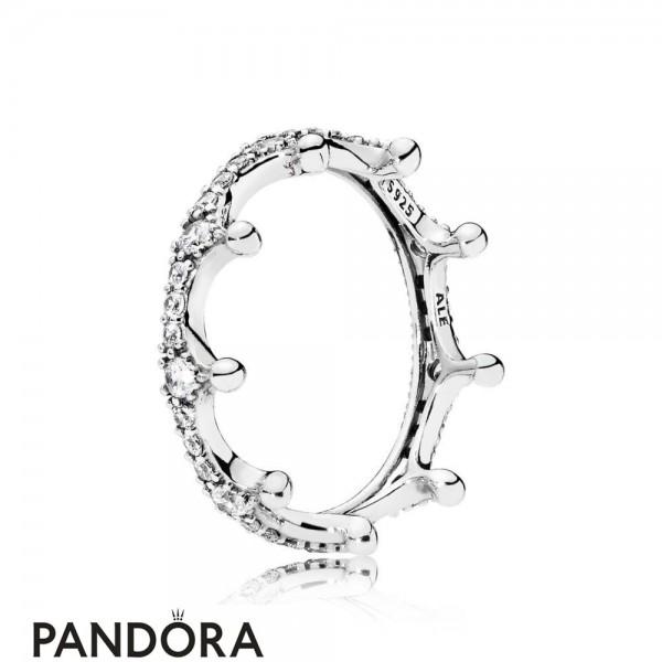 Women's Pandora Enchanted Crown Ring Jewelry