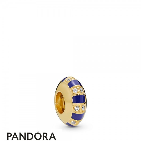 Women's Pandora Exotic Stones & Stripes Spacer Pandora Shine Jewelry