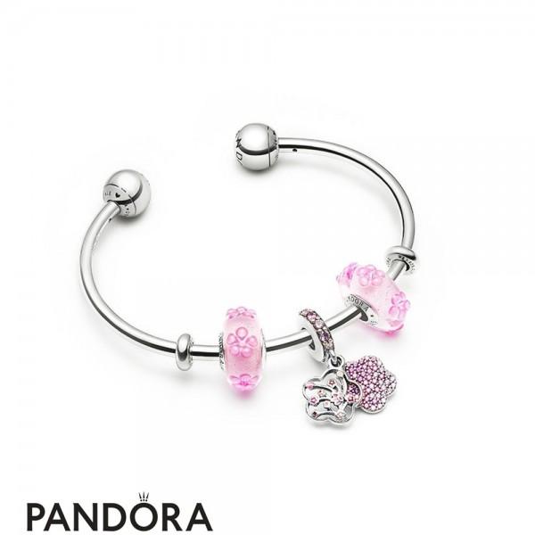 Women's Pandora Flowering Sometimes Bracelet Jewelry