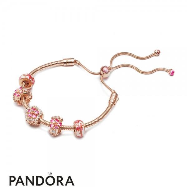 Women's Pandora Flowery Bracelet Jewelry