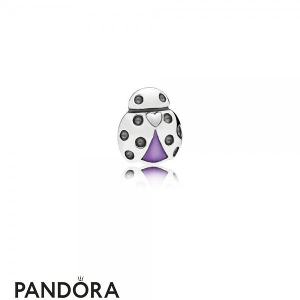 Women's Pandora Jewelry Ladybird Petite Charm Jewelry