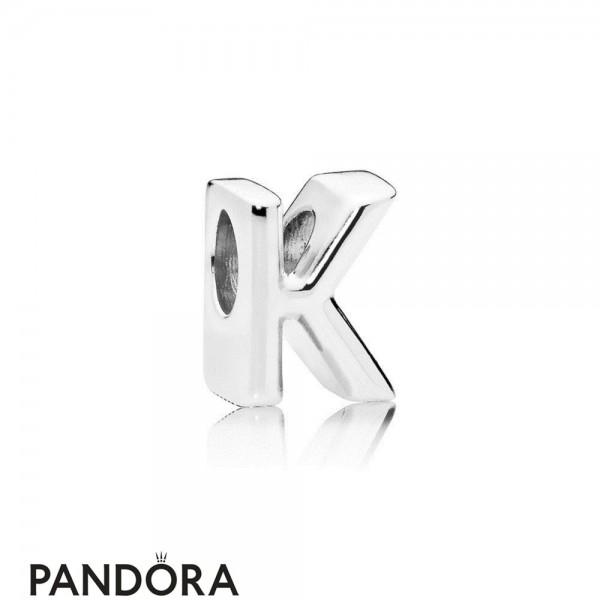 Women's Pandora Letter K Charm Jewelry