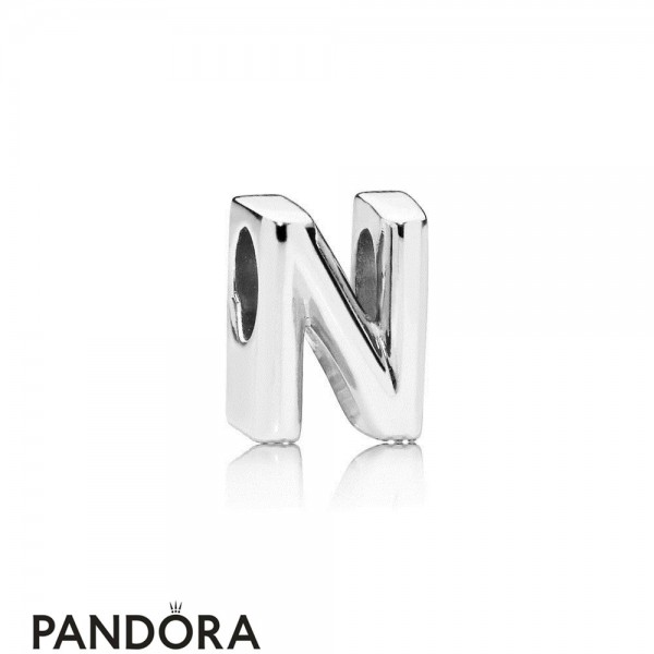 Women's Pandora Letter N Charm Jewelry