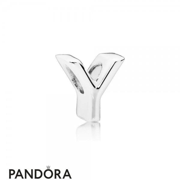 Women's Pandora Letter Y Charm Jewelry