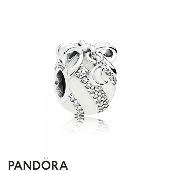 Women's Pandora Limited Edition Silver Christmas Ornament Charm Jewelry