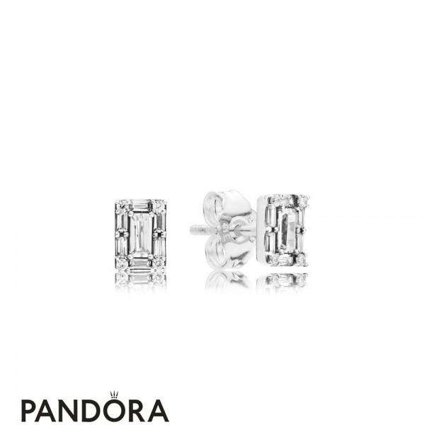 Women's Pandora Luminous Ice Earring Studs Jewelry