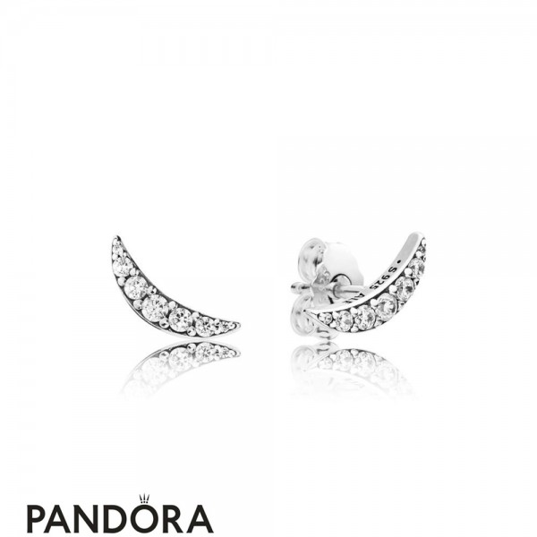 Women's Pandora Lunar Light Earring Studs Jewelry