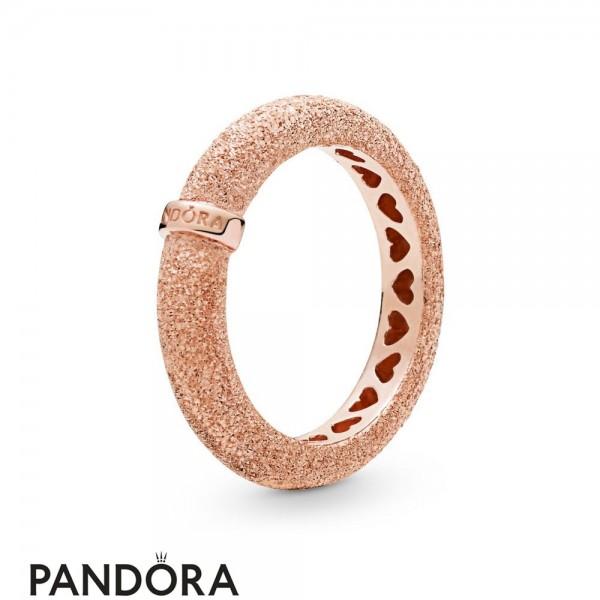 Women's Pandora Matte Brilliance Ring Pandora Rose Jewelry
