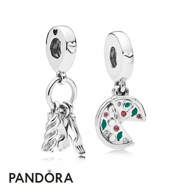 Women's Pandora Passion For Italian Food Charm Pack Jewelry