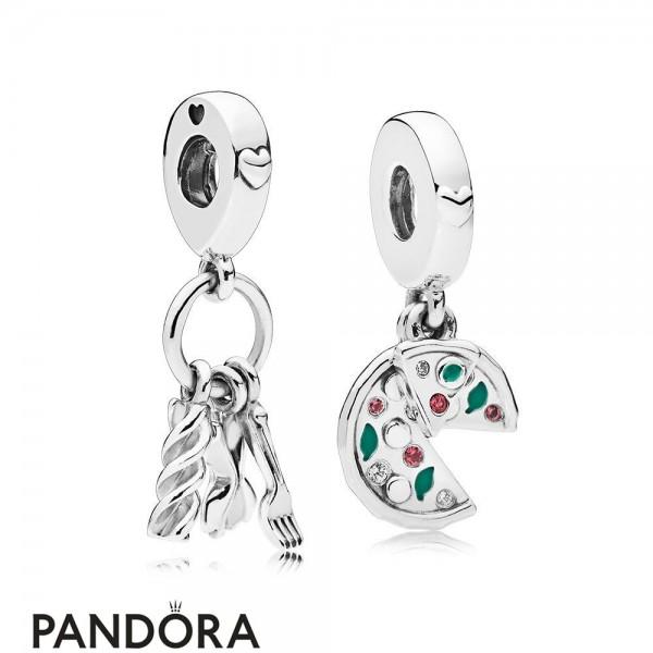Women's Pandora Passion For Italian Food Charm Pack Jewelry