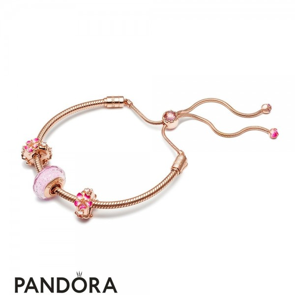 Women's Pandora Peach Raft Bracelet Jewelry
