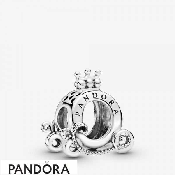 Women's Pandora Polished Crown O Carriage Charm Jewelry
