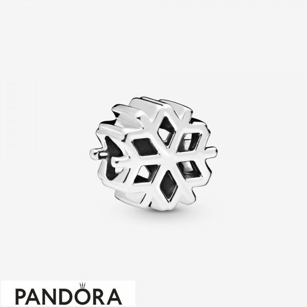Women's Pandora Polished Snowflake Charm Jewelry