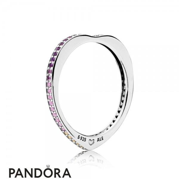 Women's Pandora Rainbow Arcs Of Love Ring Jewelry