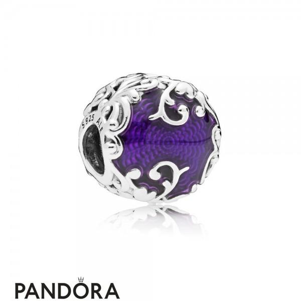 Women's Pandora Regal Pattern Charm Jewelry