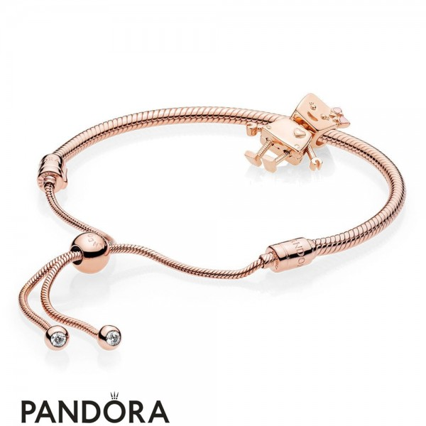 Women's Pandora Rose Bella Bot Bracelet Set Jewelry Jewelry
