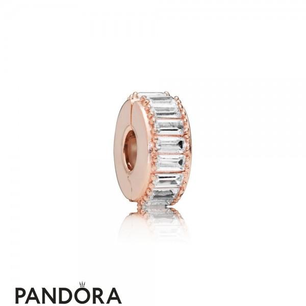 Pandora Rose Ice Formation Clip Jewelry