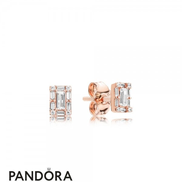 Pandora Rose Luminous Ice Earring Studs Jewelry