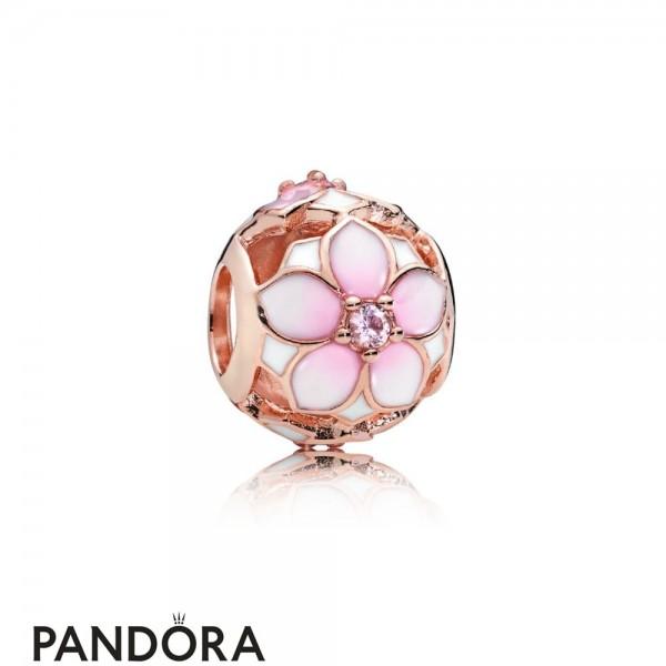 Pandora Rose Magnolia Bloom Charm Jewelry