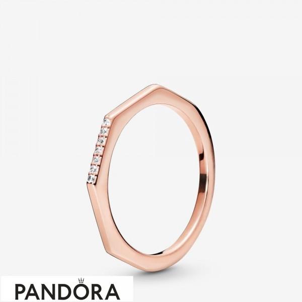 Pandora Rose Multifaceted Ring Jewelry