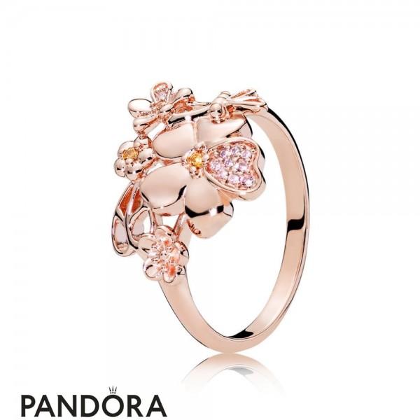 Pandora Rose Wildflower Meadow Ring Jewelry