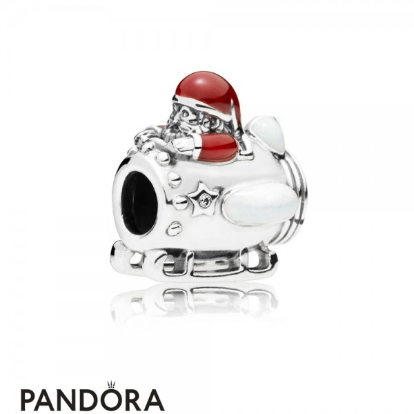 Women's Pandora Santa In Space Charm Jewelry
