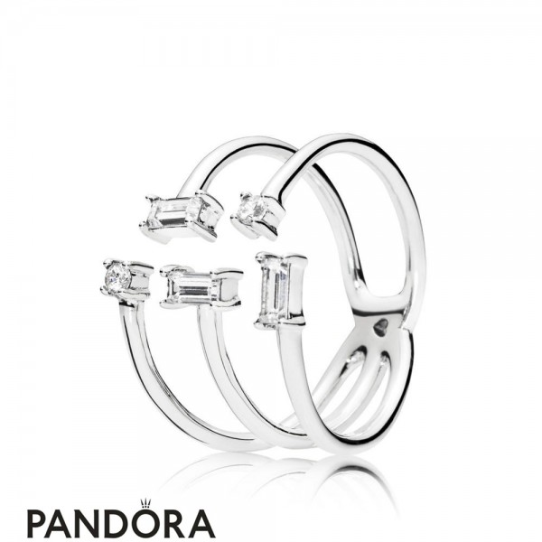 Women's Pandora Shards Of Sparkle Ring Jewelry