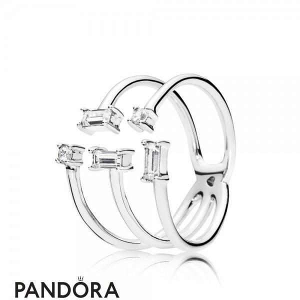 Women's Pandora Shards Of Sparkle Ring Jewelry