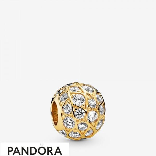Pandora Shine Sparkling Pattern Charm Jewelry