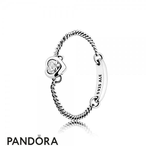 Women's Pandora Spirited Heart Ring Jewelry