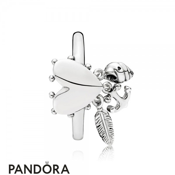 Women's Pandora Spiritual Symbols Ring Jewelry