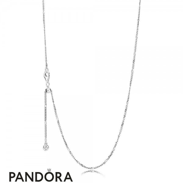 Women's Pandora Sterling Silver Necklace Chain Jewelry