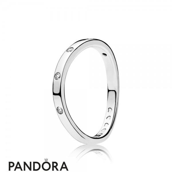 Women's Pandora Swirling Droplets Ring Jewelry