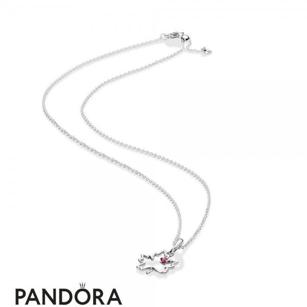 Women's Pandora Symbol Of Canada Necklace Jewelry