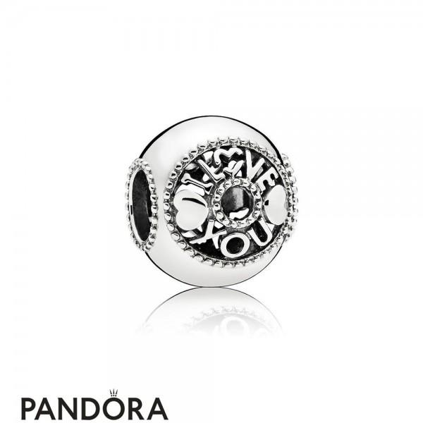 Women's Pandora Talk About Love Charm Jewelry