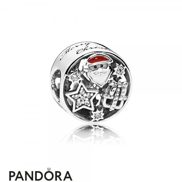 Pandora Winter Collection Christmas Joy Charm Mixed Enamel Jewelry