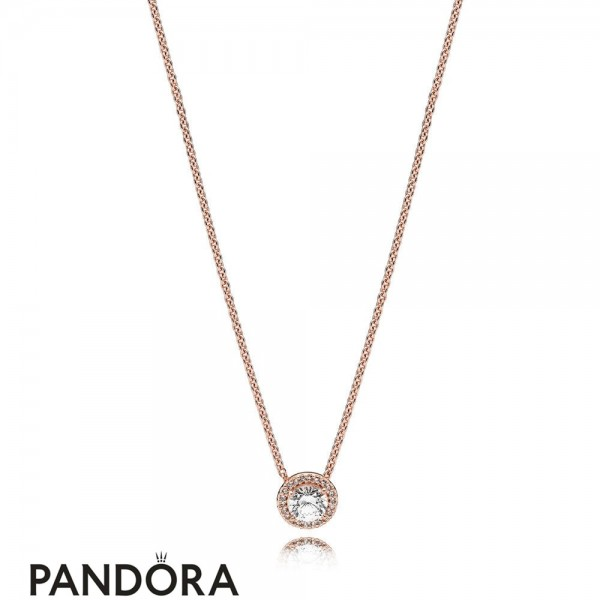 Pandora Winter Collection Classic Elegance Necklace Pandora Rose Jewelry