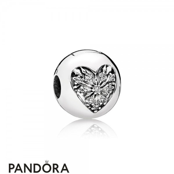 Pandora Winter Collection Heart Of Winter Clip Jewelry