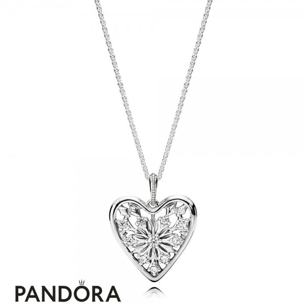 Pandora Winter Collection Heart Of Winter Necklace Jewelry Jewelry