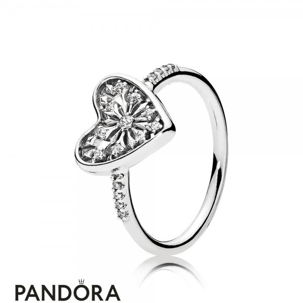 Pandora Winter Collection Heart Of Winter Ring Jewelry