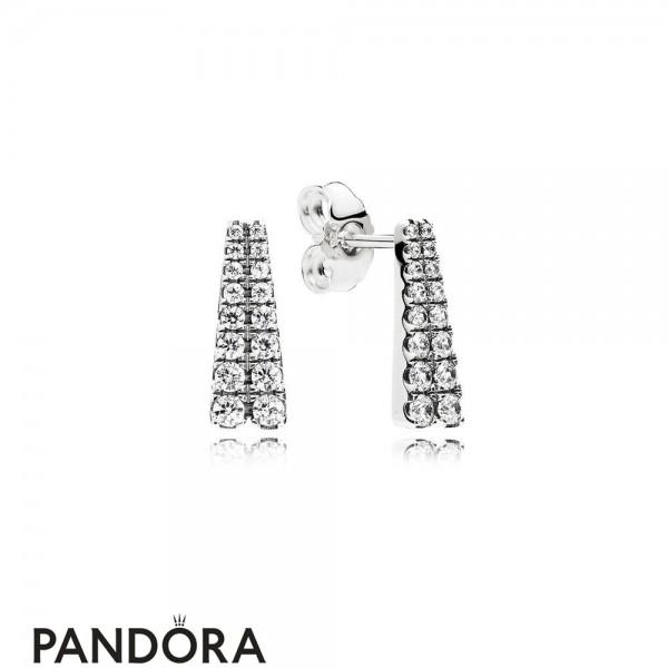 Pandora Winter Collection Shooting Stars Stud Earrings Jewelry
