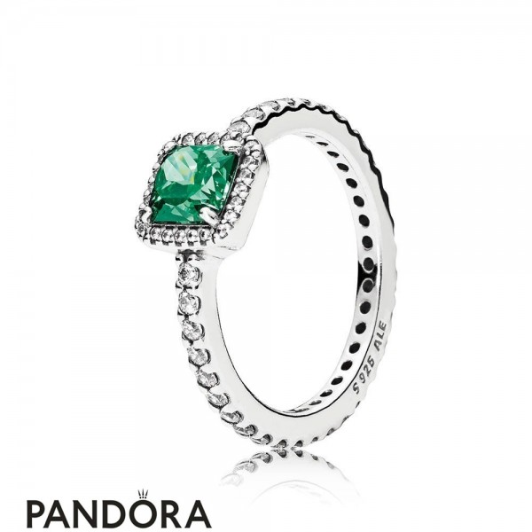 Pandora Winter Collection Timeless Elegance Green Jewelry