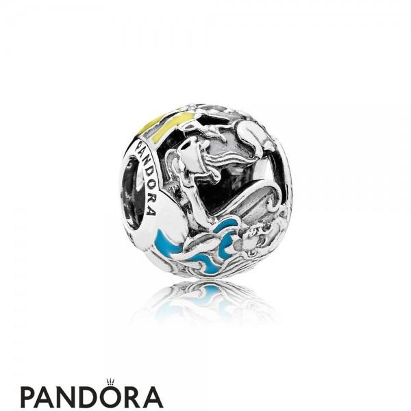 Pandora Disney Charms Alice's Tea Party Charm Mixed Enamel Jewelry