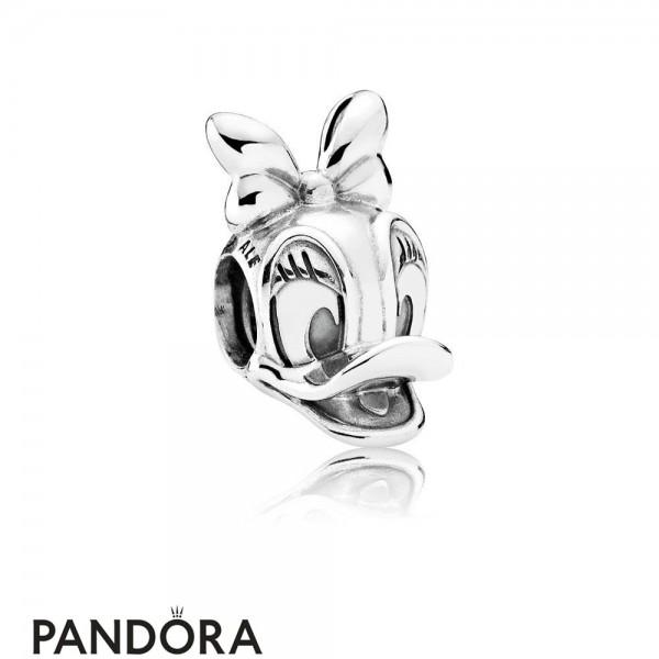 Pandora Disney Charms Daisy Duck Portrait Charm Jewelry