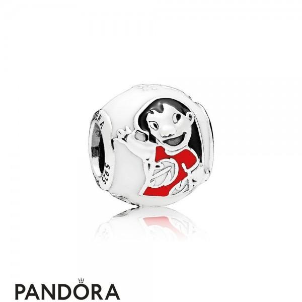 Pandora Disney Charms Lilo Stitch Charm Mixed Enamel Jewelry