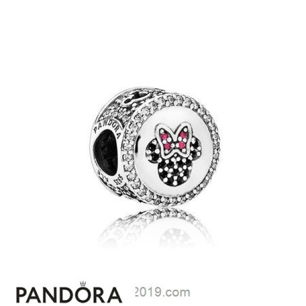 Pandora Disney Charms Mickey Minnie Sparkling Icons Limited Edition Disney Charm Jewelry