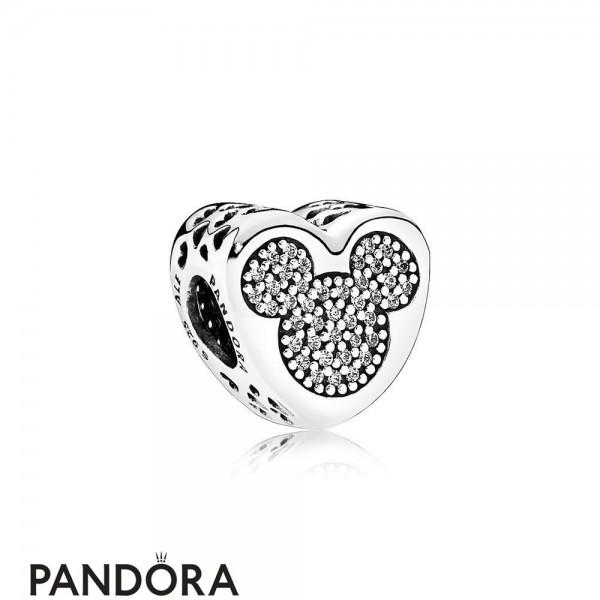 Pandora Disney Charms Mickey Minnie True Love Jewelry