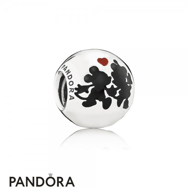 Pandora Disney Charms Minnie Mickey Forever Charm Mixed Enamel Jewelry
